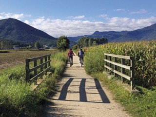 Cycling on Greenways La Garrotxa